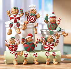 gingerbread collectible sitters ideas