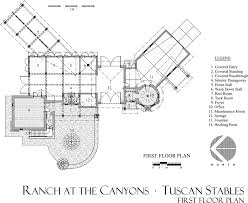 Horse Stall Floor Plans Tuscan Stables Ranch At The Canyons Terrebonne Oregon