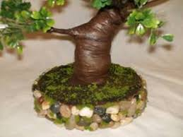 miniature tree in a planter greenleaf dollhouse kits