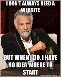Website Meme - 14 questions to ask a web developer lucid digital