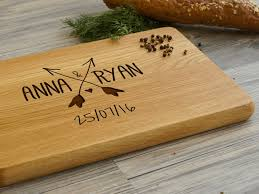 personalized cutting board personalised cutting board arrows wooden cutting boards by a
