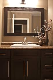 Shaker Style Bathroom Vanity by Espresso Brown Shaker Style Bathroom Vanity With A Leather Look