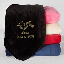 personalized graduation gifts personalized graduation fleece blanket 50x60 the graduate