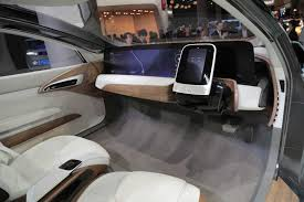 luxury minivan interior nissan ids concept is a self driving electric car