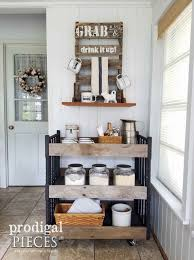Changing Table Shelves by Repurposed Changing Table Cart Trashure Prodigal Pieces