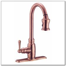antique copper pull down kitchen faucet sinks and faucets home