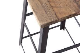 chaise de bar maison du monde tabourets maison du monde great tabouret en fausse fourrure et bois