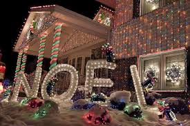 remarkable big outdoor christmas decorations clearance lots lights