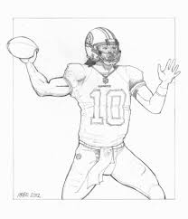 drew brees coloring pages drew downlload coloring pages