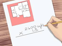 Computing Square Footage by 4 Ways To Measure A Roof Wikihow
