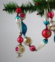images of vintage mercury glass garland images