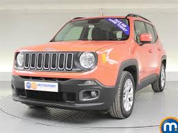 jeep renegade interior orange used jeep renegade orange for sale motors co uk
