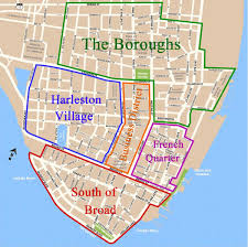 sc map things to do in charleston sc map of the historic district