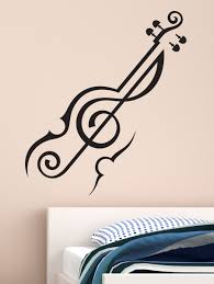 original1 687201 1 jpg 902 1200 festival wall stickers pinterest abstract violin music wall decal by wallmantra online store in india for spiritual funny kids stickers wall tattoos wall clocks graphics