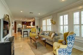 home staging in a south tampa bungalow cardinal designs and