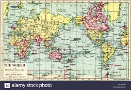Mercator World Map by A 1930 U0027s Map Of The World On Mercator U0027s Projection The British