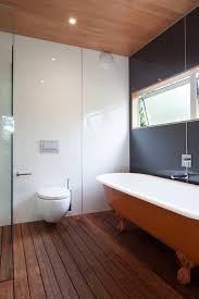 bathrooms beach house simplicity on waiheke island