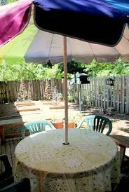Tablecloth For Umbrella Patio Table How To Make Tablecloths For Patio Tables With Umbrellas Patio