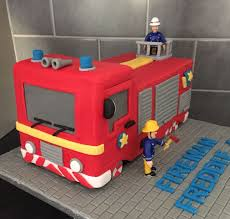 28 fire station images fireman sam cake