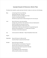 work plan template 11 free pdf word documents download free