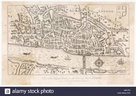 map london city late 16c stock photo royalty free image 7123208