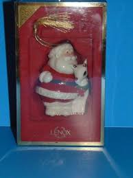 lenox rudolph with santa ornament 2004 4th in series ebay