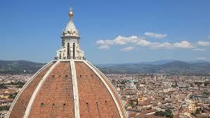 santa dei fiore view on cathedral of santa dei fiore stock footage