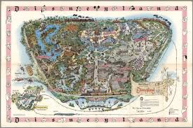 Magic Kingdom Map Orlando by Walt Disney U0027s Magic Kingdom Disneyland U S A Anaheim