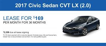 lease a honda civic civic lease specials and offers honda of lincoln