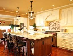 Lighting Above Kitchen Table Over Kitchen Island Lighting With The And Backsplash 7 Beach Style
