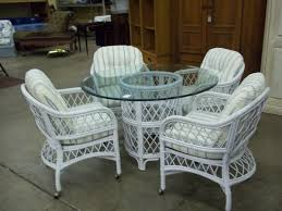 decor classic vintage used henry link wicker furniture for home