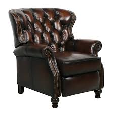 Leather Chairs Office Barcalounger Presidential Ii Leather Recliner Chair Leather