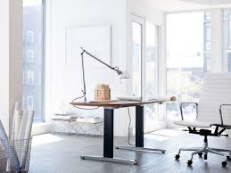renew sit to stand table rectangular herman miller