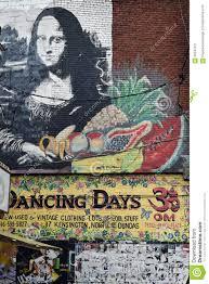 wall mural kensington market toronto canada editorial photo canada kensington lisa market mona mural ontario toronto wall