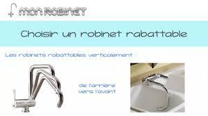robinet escamotable cuisine robinet rabattable pour évier de cuisine mon robinet fr