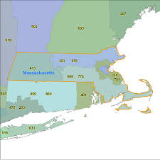 Virginia Area Code Map by Massachusetts Area Code Maps Massachusetts Telephone Area Code