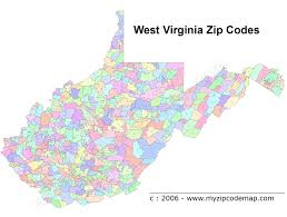 Louisiana Area Code Map by West Virginia Zip Code Maps Free West Virginia Zip Code Maps