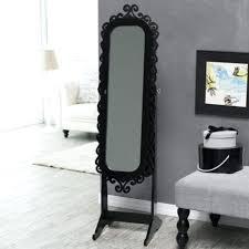 standing mirror jewelry cabinet black mirror jewelry armoire unknownfacts info