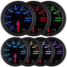 amazon com glowshift tinted 7 color high pressure oil pressure
