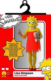 Lisa Simpson Halloween Costume Lisa Simpson Kostuum Voor Meiden