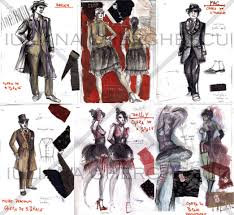 theatre costume sketches by markless on deviantart