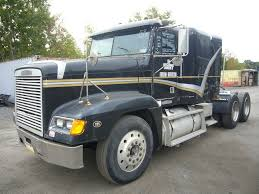 freightliner used trucks 1995 freightliner fld120 tandem axle sleeper cab tractor for sale