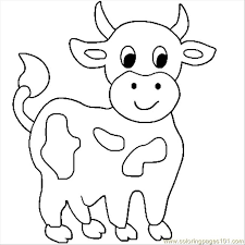 Cow Coloring Pages Free cow coloring pages free cow66 coloring page free cow coloring pages