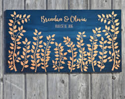 signable wedding platters signature board etsy
