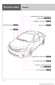 toyota corolla 2011 10 g owners manual