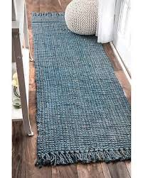 Aqua Runner Rug Amazing Deal On Havenside Home Caladesi Handmade Braided Aqua Jute