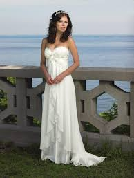beach style embroidered wedding dresses for women u2013 designers