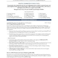 10 marketing resume samples hiring managers will notice with