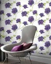 homebase home of colour wallpaper white purple virginia plum