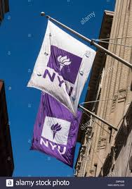 University Flags New York University Flags Nyc Stock Photo Royalty Free Image